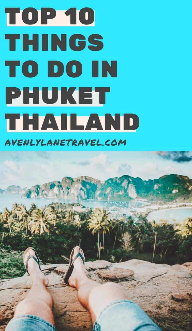 Top things to do in Phuket, Thailand. Take a day trip to Phi Phi Islands and enjoy the beautiful beaches for your summer vacation or romantic honeymoon. Whether you stay in a resort, hotel, enjoy the Thai food, restaurants, shopping and take pictures with your friends at the beach it is sure to be the vacation of a lifetime. Click through to read more on Phuket. #thailand #asia #travel #avenlylane #avenlylanetravel #wanderlust #beaches #summertravel #vacation #traveloutfits #summervacation
