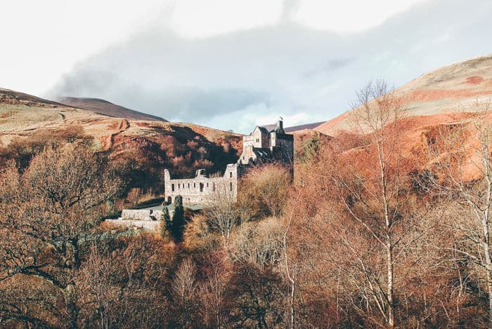 Castle Campbell in Scotland