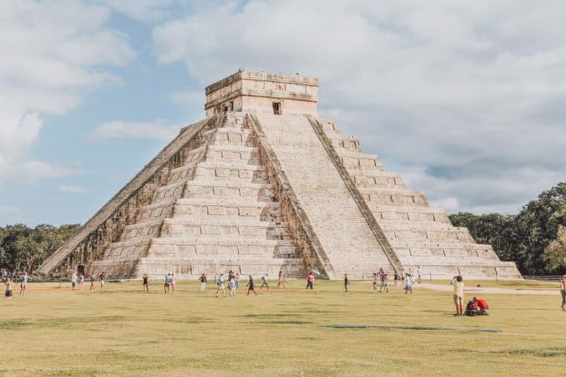Chichen Itza in Mexico - Ancient Ruins Near Cancun