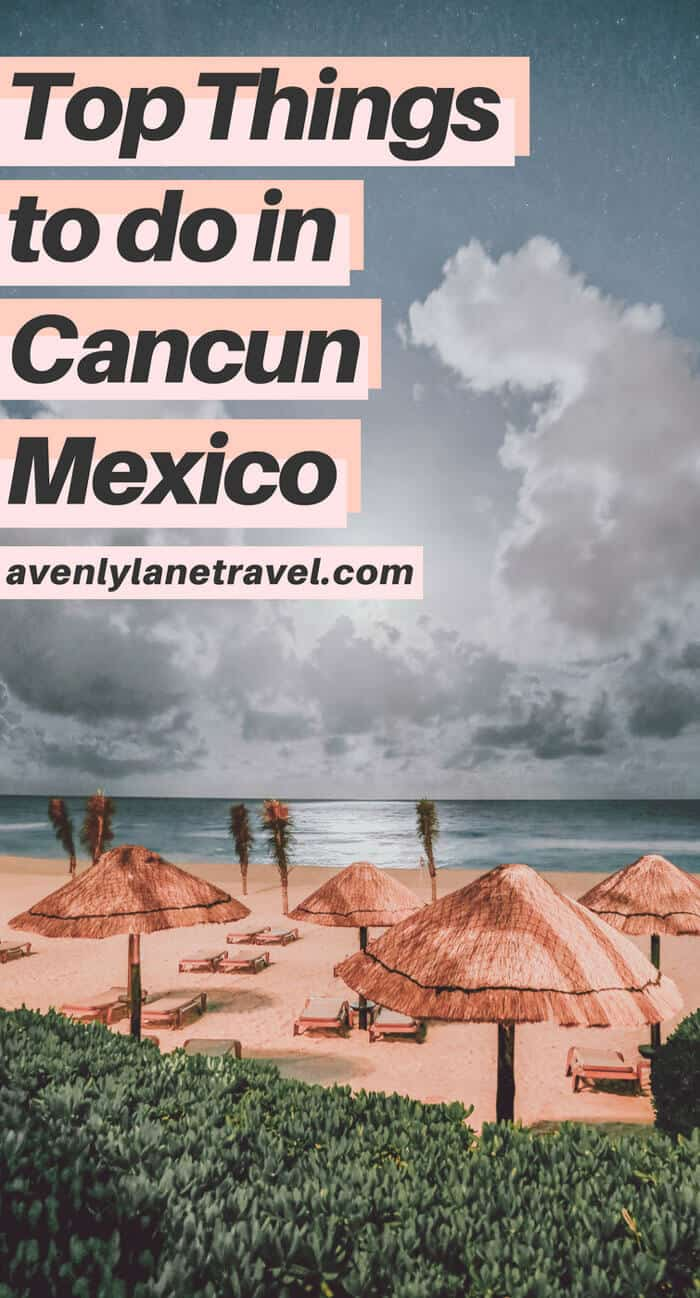 Fun things to do in Cancun! Wondering if there are any fun things to do in Cancun besides vacationing on the Cancun beaches? Find the best places to visit in Cancun, whether you are a budget traveler, or looking for the best nightlife in Cancun. #mexico #traveltips #beaches #island #cancun #vacation #summertravel #avenlylane #avenlylanetravel Check out the full post on www.avenlylanetravel.com