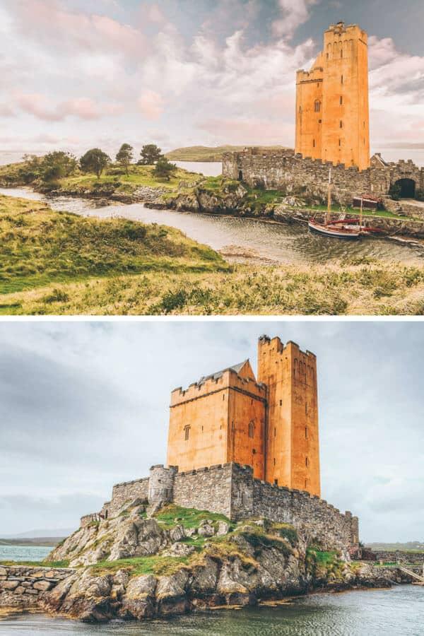 Kilcoe Castle in Ireland