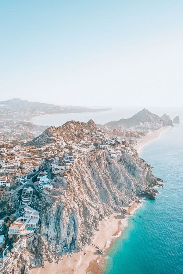 Rocky and amazing coastline in Cabo!