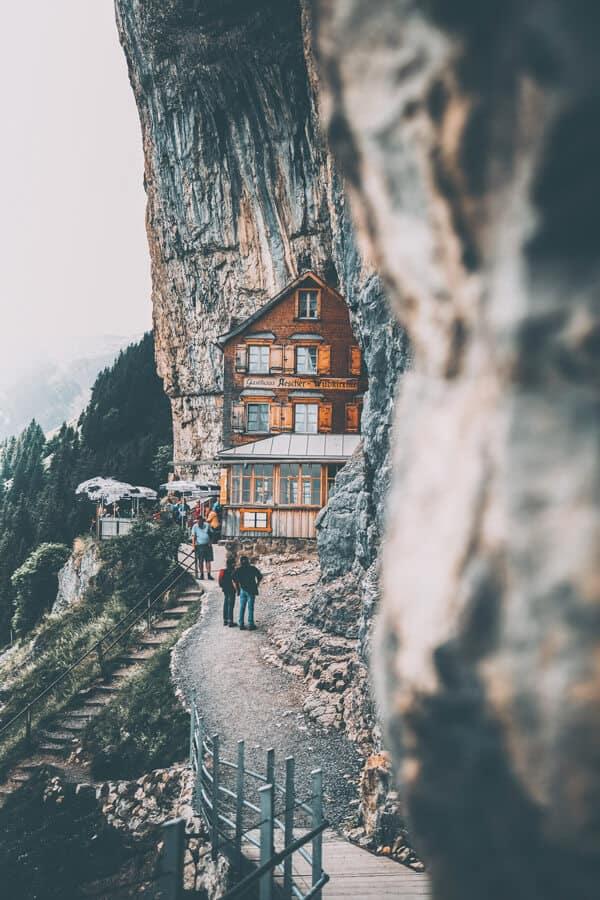 Berggasthaus Aescher-Wildkirchli Weissbad Switzerland