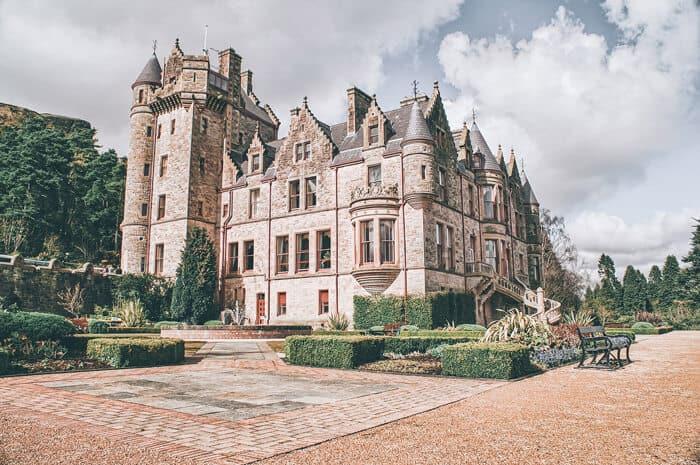 Belfast Castle in Ireland