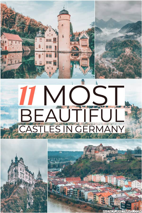 11 of the Most Fairytale like Castles in Germany! If you are going to travel to Germany you have to see these incredible German castles on avenlylanetravel.com #germanytravel #germanycastles #castles #germany #eltzcastle #avenlylane #avenlylanetravel