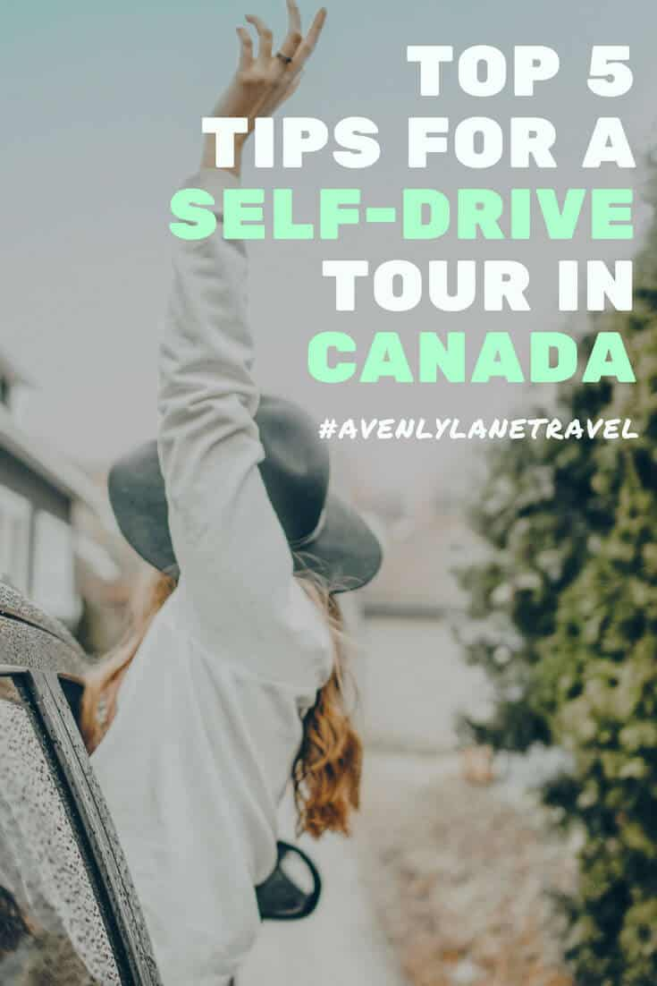 Canada Road Trip & Self Drive Tours Tips! check out 5 top tips for a self drive tour in Canada! Check out the full article on www.avenlylanetravel.com #avenlylanetravel #canada #roadtrip #banff