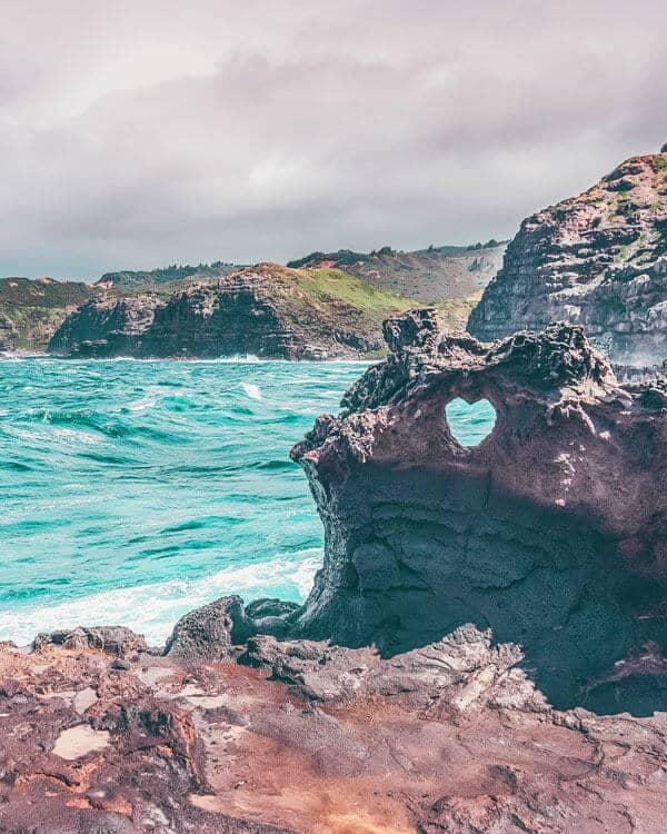 Heart Shaped Rock in Maui!