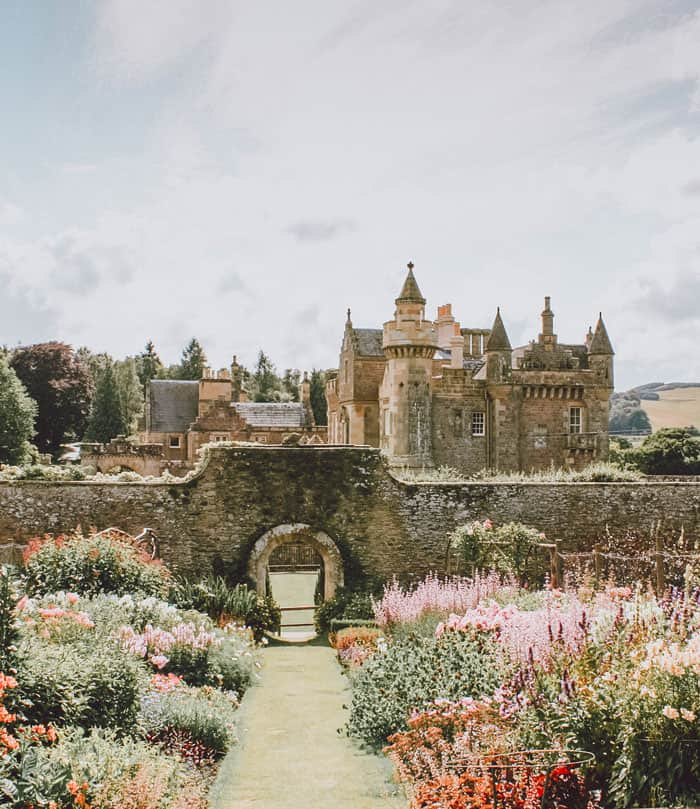 Walter Scott's Castle in Scotland. Pictures of Scotland you will want to add to your Scotland road trip itinerary! Europe Bucket List #avenlylanetravel #scotland #castles