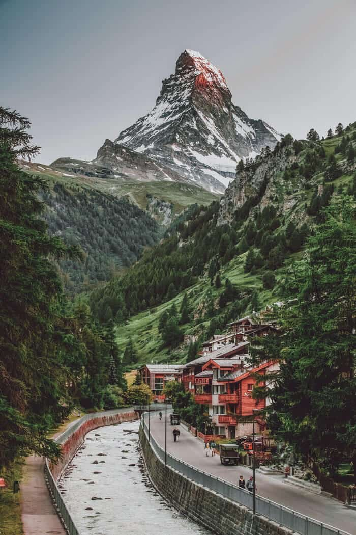 Zermatt City and Matterhorn in Switzerland!