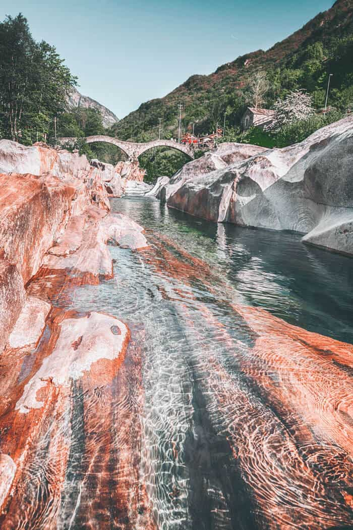 Valle Verzasca just may be the most gorgeous place in Switzerland!