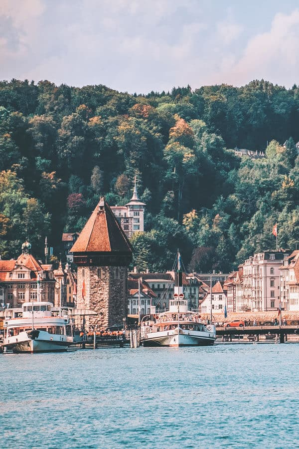 Lucerne Switzerland travel in the summer! If you are on the hunt for the most beautiful places in Switzerland to add your Switzerland travel itinerary, Lucerne should be at the top of your bucket list! #switzerland #summertravel #lucerne