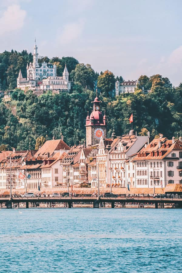 Lucerne Switzerland travel in the summer! If you are on the hunt for the most beautiful places in Switzerland to add your Switzerland travel itinerary, Lucerne should be at the top of your bucket list! Do you agree?