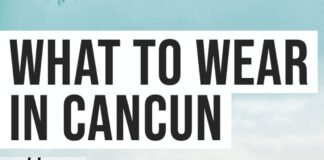 what to wear in Cancun