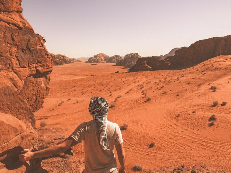 Desert Trek to Petra, Jordan