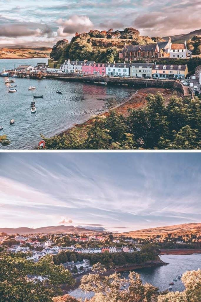 Portree Scotland in the Scottish Highlands! #scotland #scottishhighlands #portree