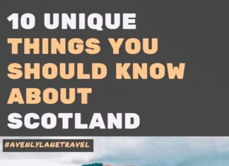 Unique Things to Know About Scotland's Culture. Are you wondering what to know about Scotland before visiting? Everyone should get a chance to experience Scotland culture. Knowing some of the unique elements before you can can help prepare you for your trip. Check it out on avenlylanetravel.com #avenylane #scotland #scottish #highlands #europe