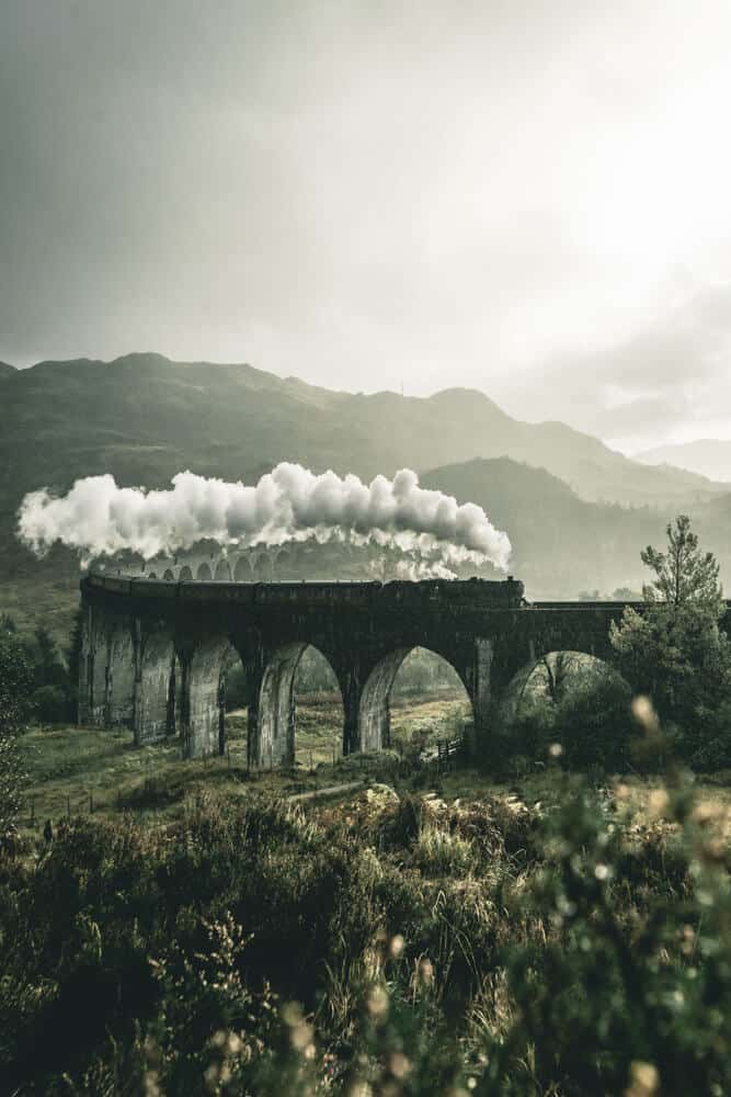 Glenfinnan Viaduct in Scotland!