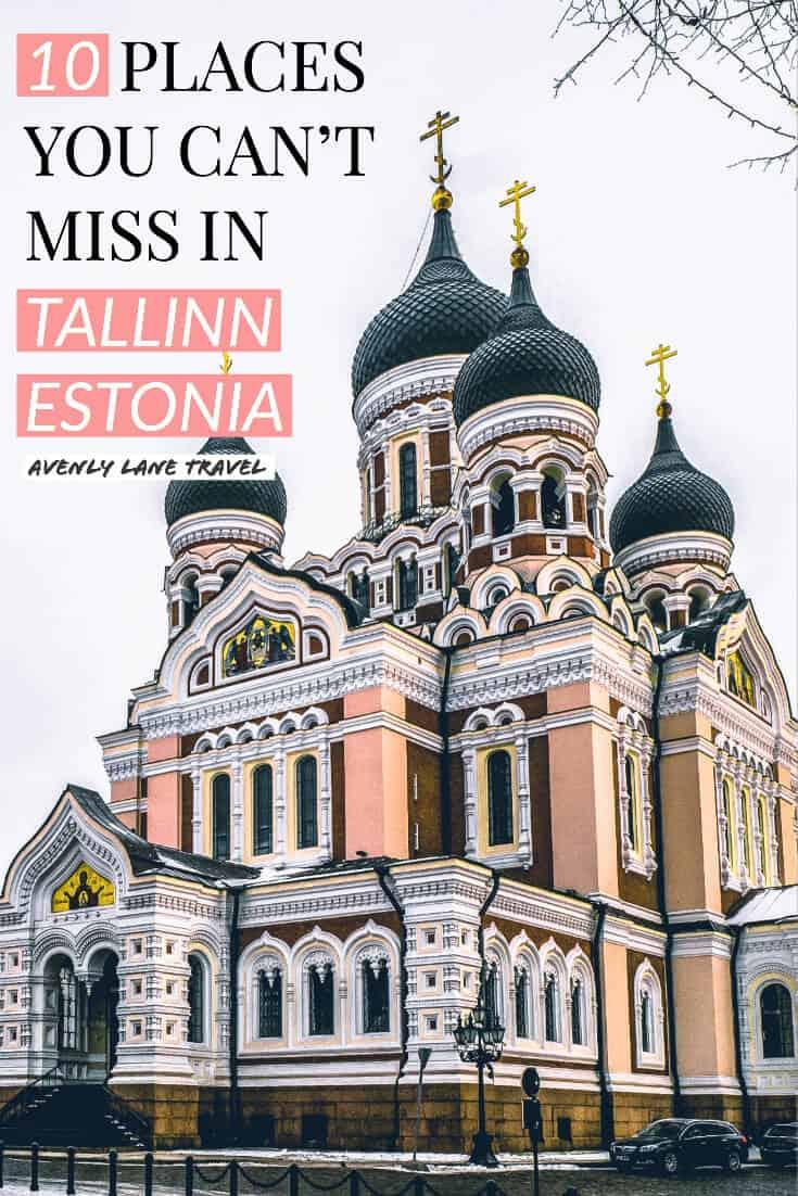 Best things to do in Tallinn Estonia