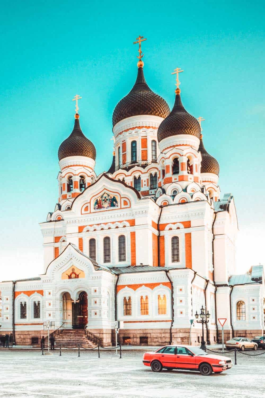 Alexander Nevsky Cathedral in Tallinn! Best things to do in Tallinn Estonia.