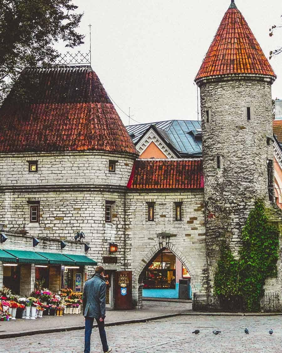 Old Town Tallinn Estonia.