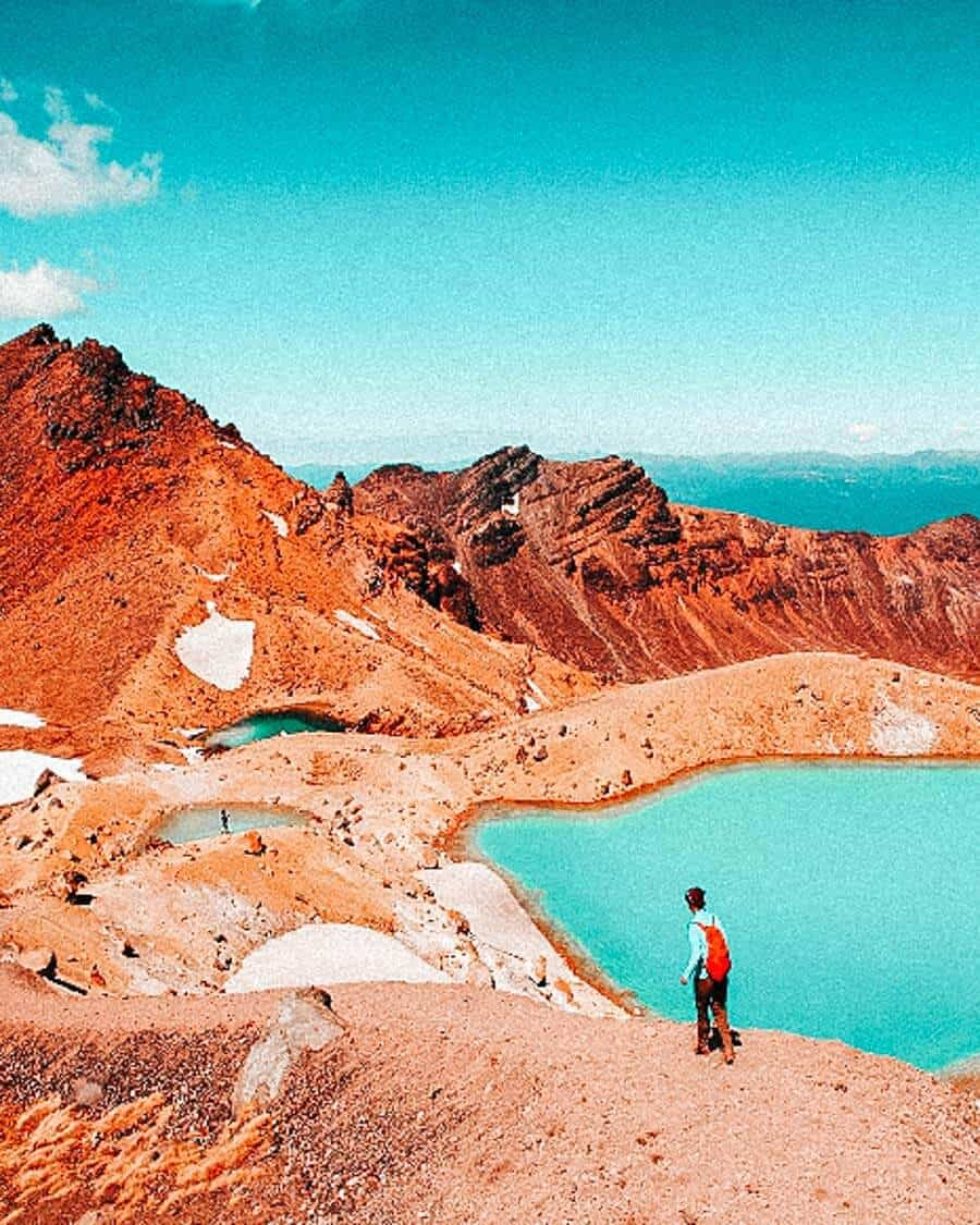 20 Most Beautiful Places in New Zealand! Tongariro Alpine Crossing is one of the top beauties of New Zealand and definitely one of the top places to see in New Zealand before you die. Check out these beautiful photos of New Zealand