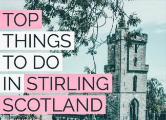 Top things to do in Stirling Scotland! One of the best towns in Scotland that I have ever visited! #scotland