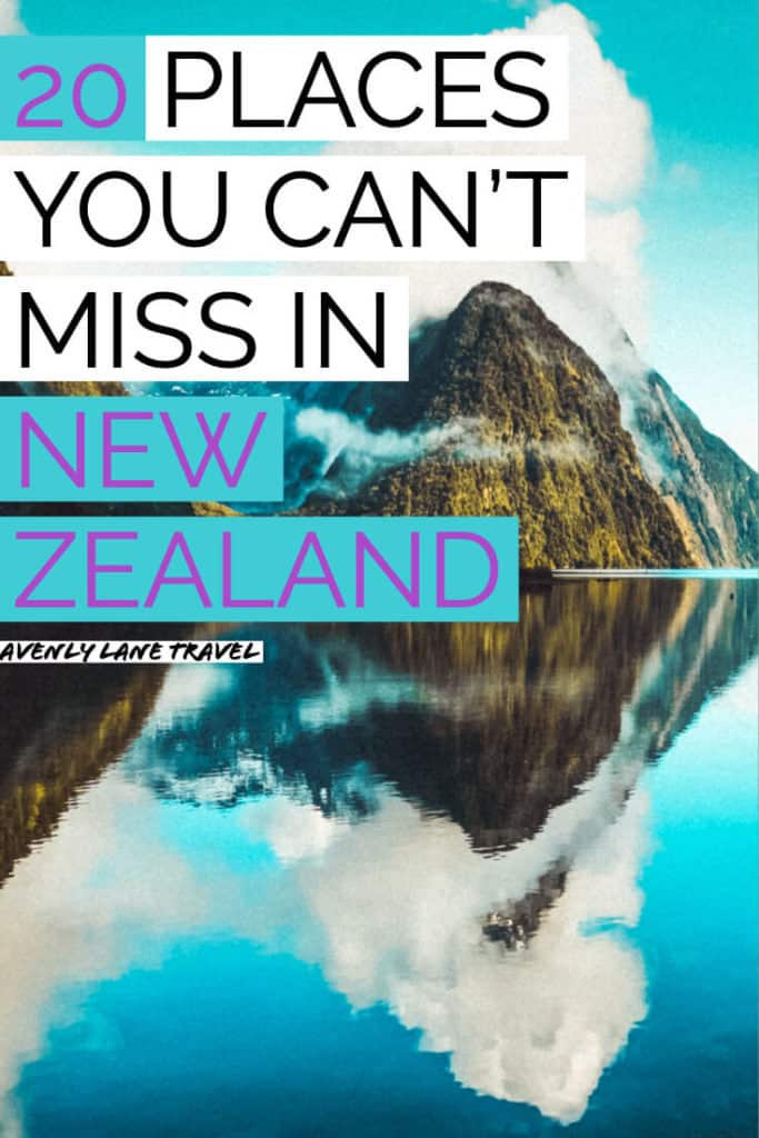 20 Most Beautiful Places in New Zealand! There are so many top beauties of New Zealand and definitely one of the top places to see in New Zealand before you die.