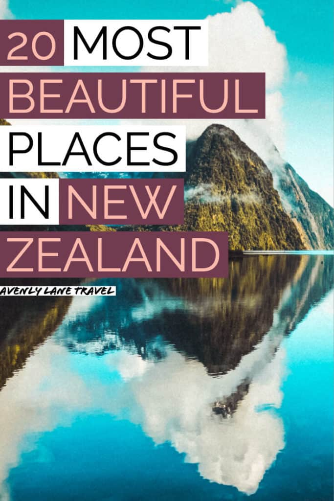 20 Most Beautiful Places in New Zealand! Milford Sound is one of the top beauties of New Zealand and definitely one of the top places to see in new zealand before you die. Check out the best places to see in New Zealand