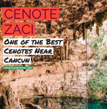 Cenote Zaci - One of the best cenotes in Mexico! #avenlylane #avenlylanetravel #cenotes #mexicotravel #beautifulplaces #travelinspiration #traveldestinations