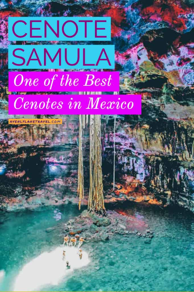 Cenote Samula! Cancun Cenotes are known for being amazing and Cenote Samula is one that contributes to this well-deserved reputation.
