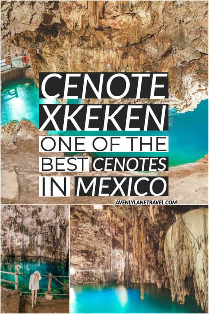Cenote Xkeken - One of the best Cenotes near Cancun, Mexico. Everything you need to know about Cenote Xkeken (Cenote Dzitnup)