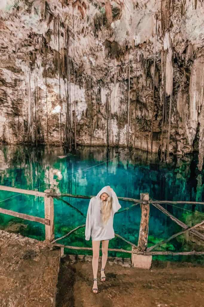 Everything you need to know about Cenote Xkeken (Cenote Dzitnup). Cenote Xkeken also known as Cenote Dzitnup is one of the best cenotes near Cancun.