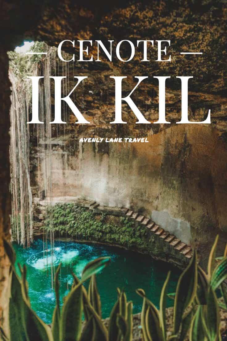 Cenote Ik Kil in Mexico