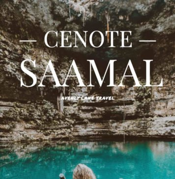 Cenote Saamal in Mexico!