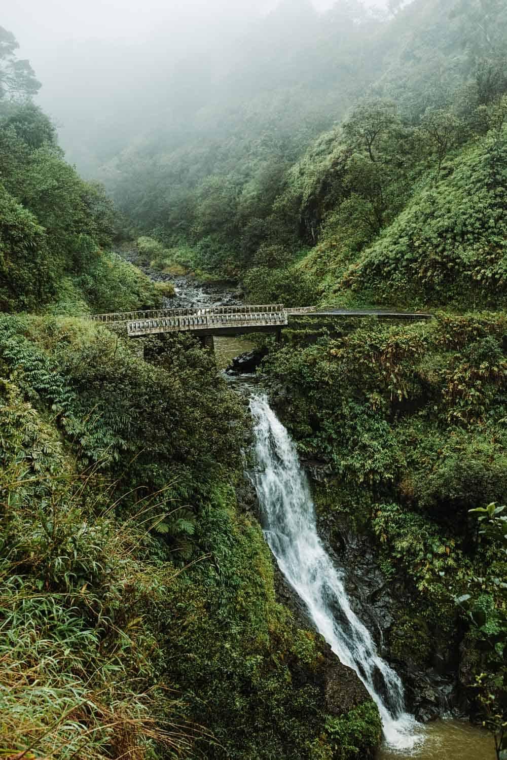 Makapipi Falls in Hawaii