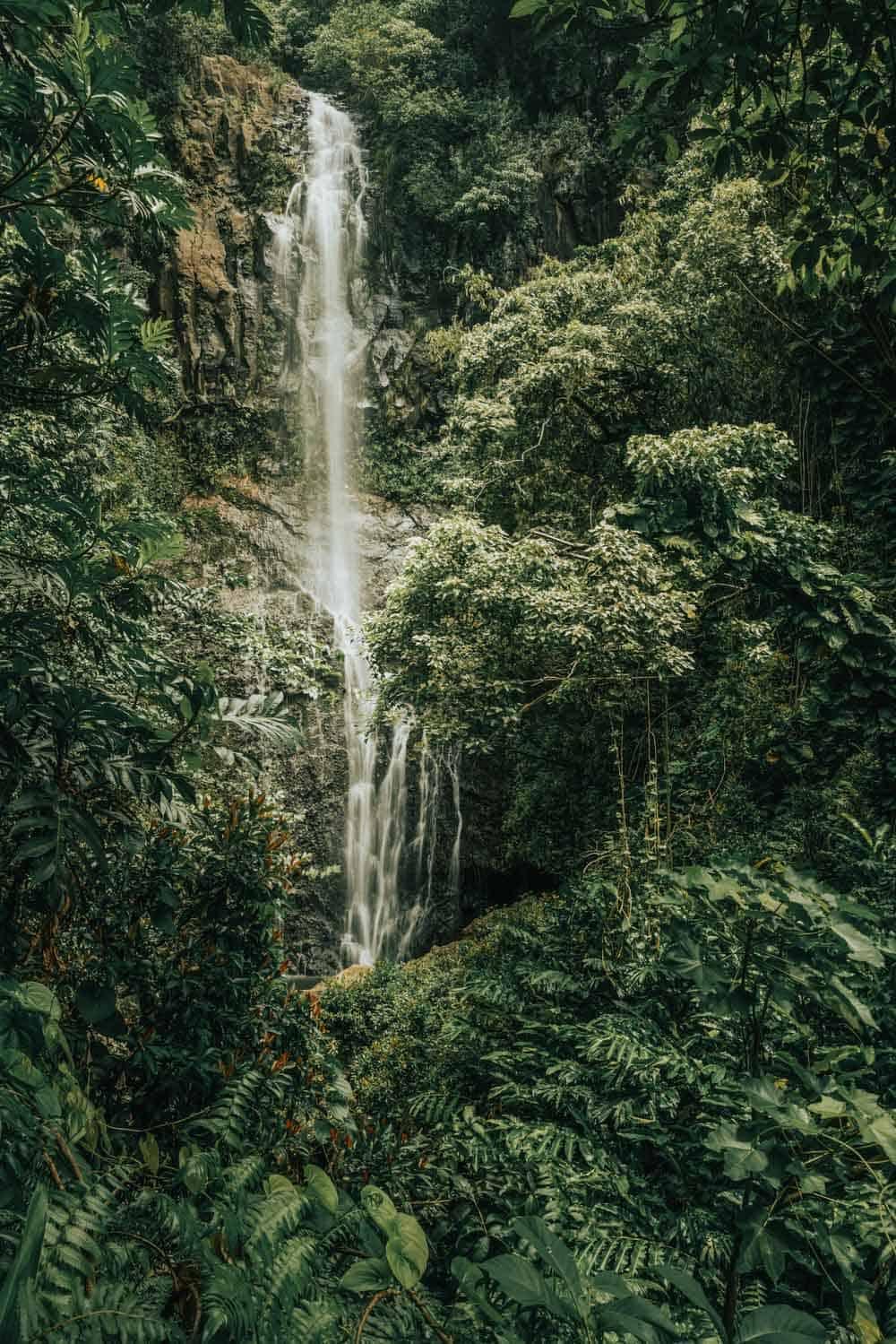 Wailua Falls Maui.