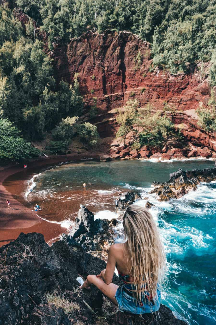 One Of The Best Beaches Maui Offers: Red Sand Beach