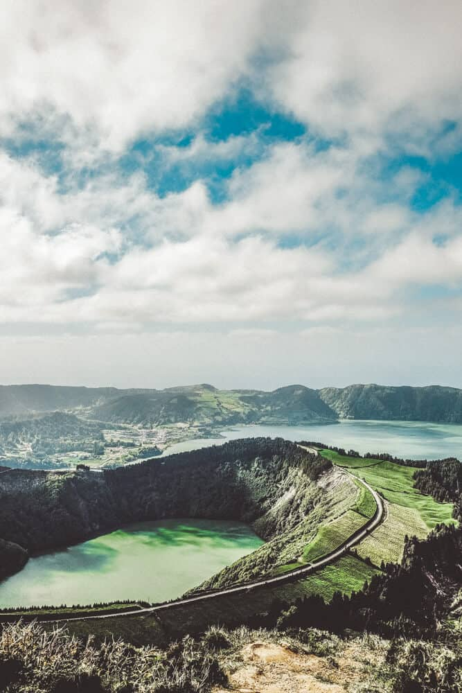 Explore the Sete Cidades Lakes