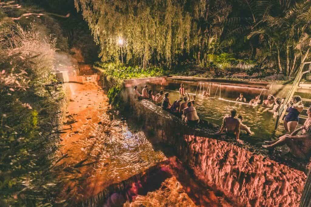 Relax at Poca Da Dona Beija (hot springs)