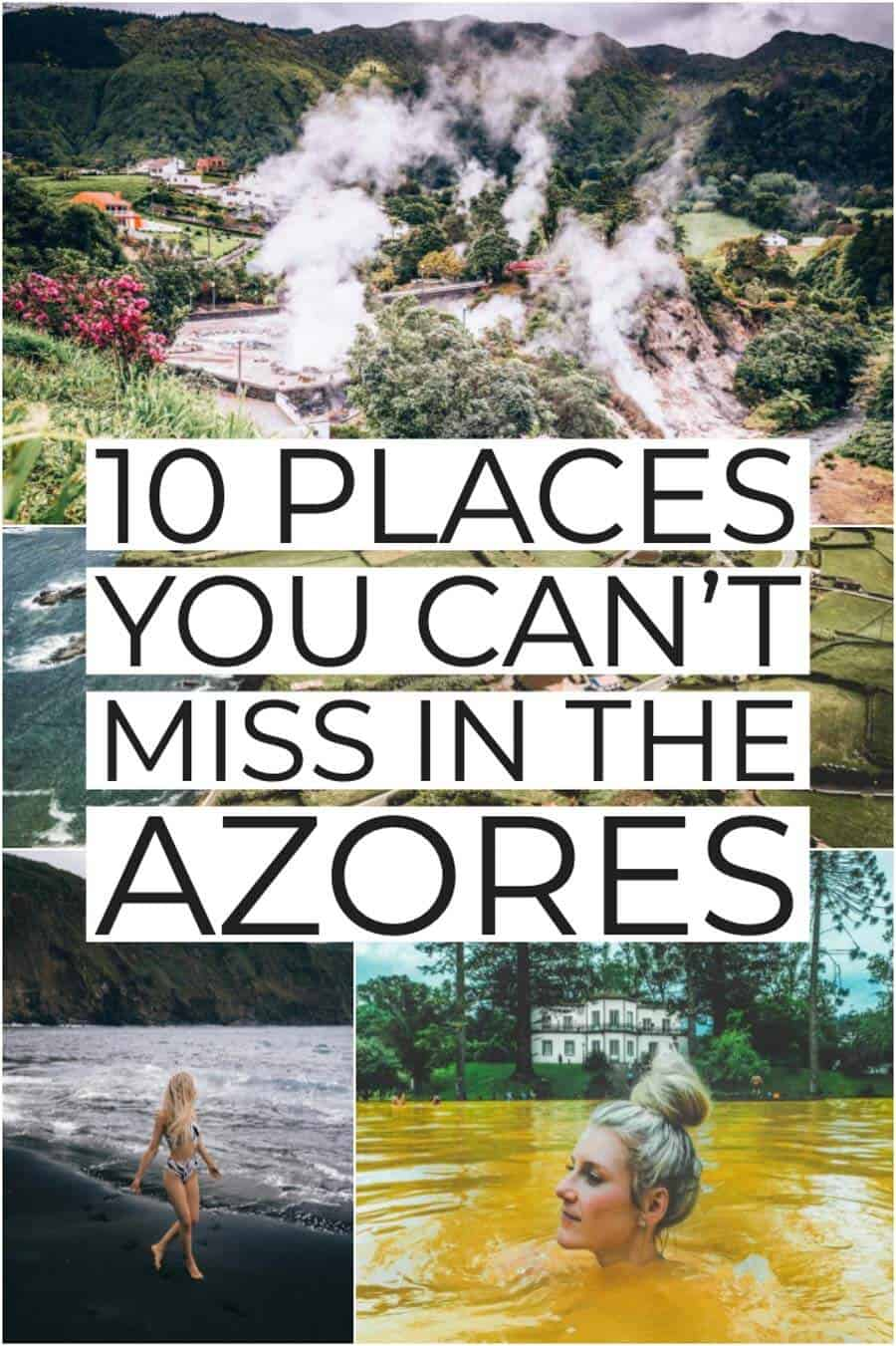 TOP 10 THINGS TO DO IN THE AZORES