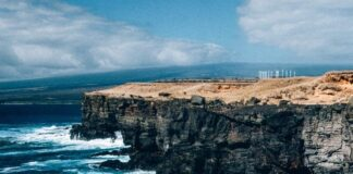 South Point Hawaii Cliffs (Ka Lae): Cliff Jumping Hawaii Big Island Style