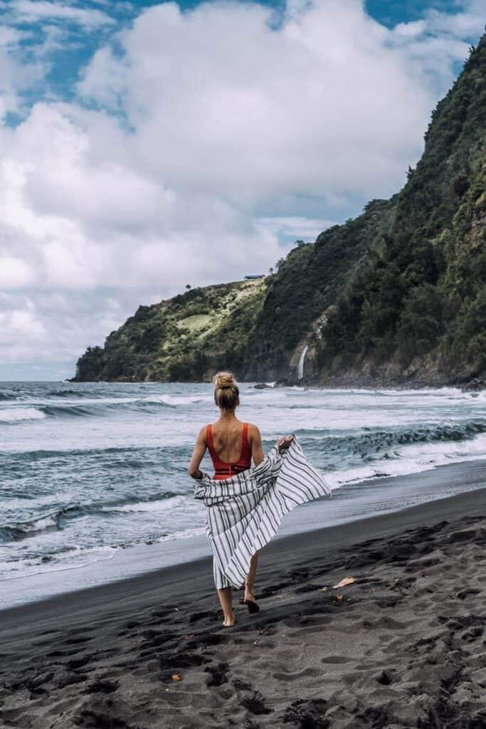 Waipio Valley Black Sand Beach - Hawaii's Best-Kept Secret