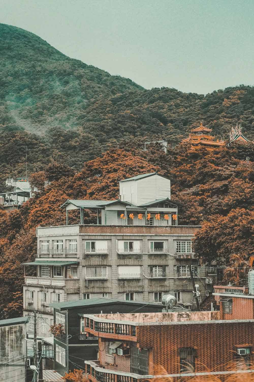 Jiufen hillside homes