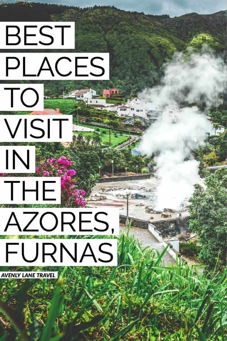 You must visit the picturesque village of Furnas on any trip to the Azores.