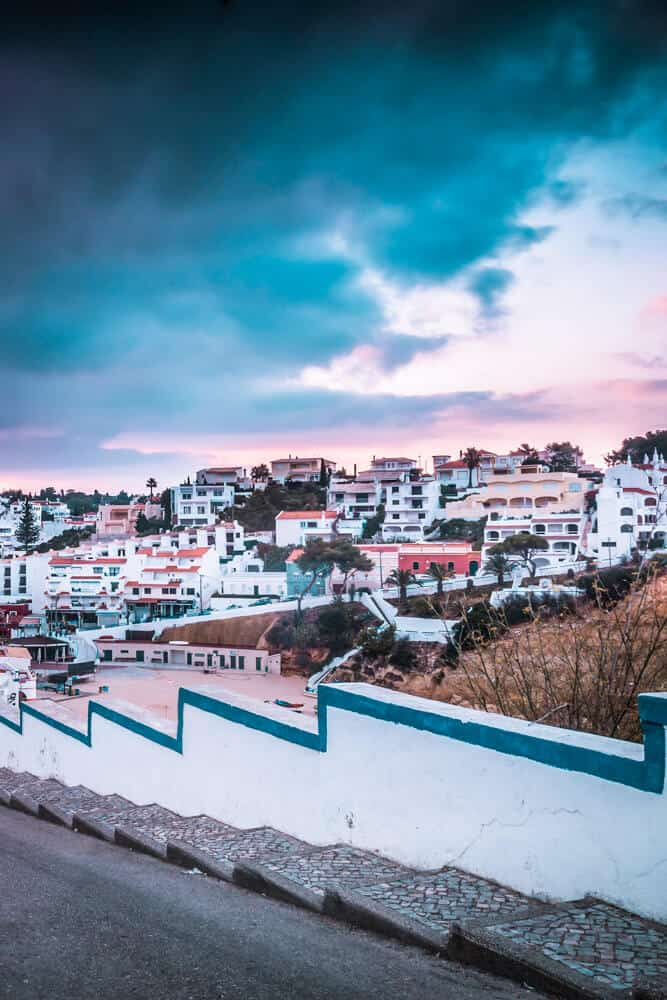 Beautiful small town of Carvoeiro on the Portuguese coast. Click through to see 25 of the most beautiful villages in the world!