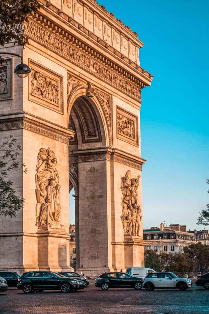 Arc de Triomphe - El Arco Triunfal