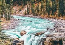 The Best Jasper Waterfalls: Sunwapta Falls