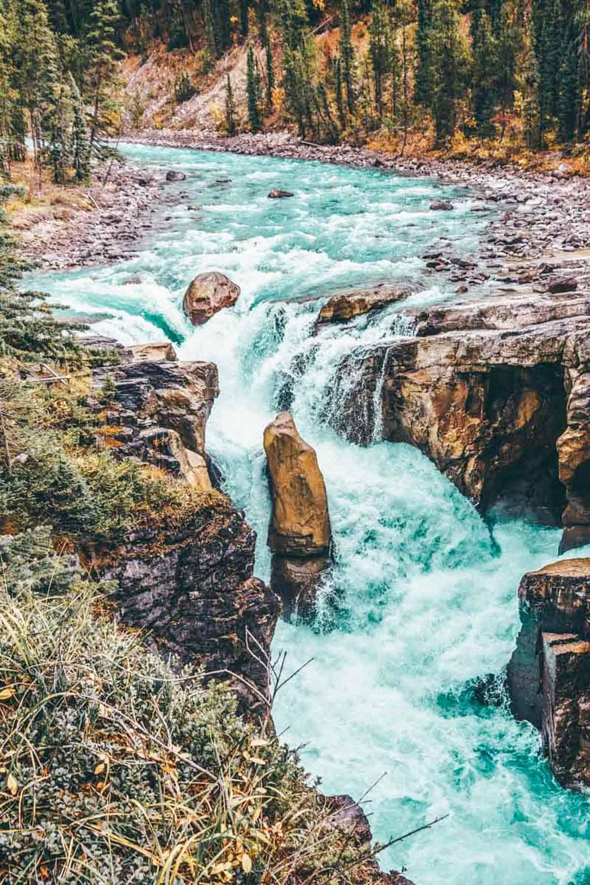The Best Jasper Waterfalls: Sunwapta Falls