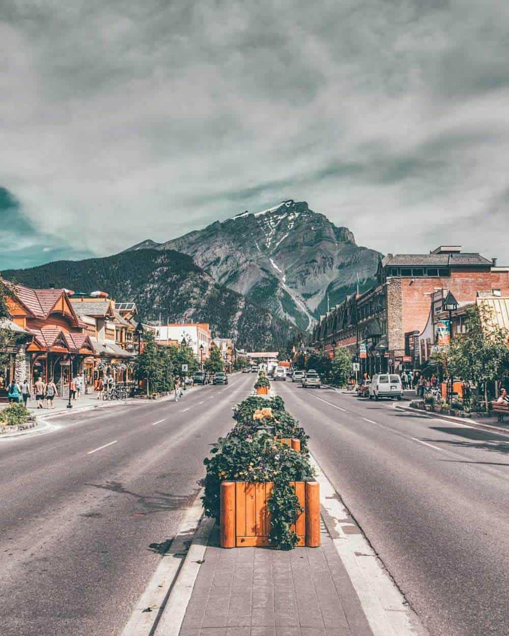 Banff Mountain Town