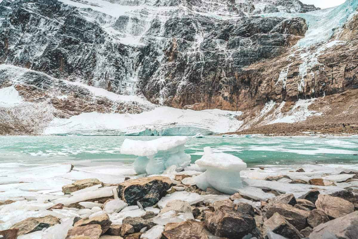 Mt Edith Cavell and Angel Glacier
